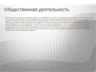Общественная деятельность В 1940 году поэт был принят В члены Союза Советских