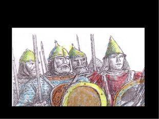 Древние воины носили железный шлем, да еще с пластинкой над переносицей.