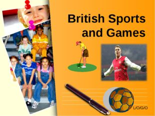 British Sports and Games L/O/G/O