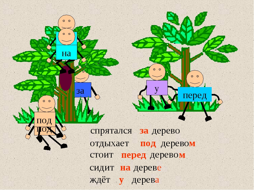 сидит … дерево ждёт … дерево у дерева стоит … дерево спрятался … дерево за пе...