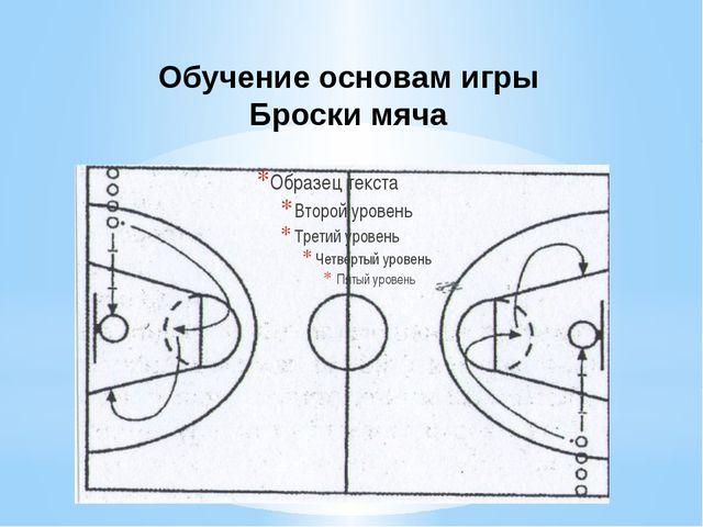 Обучение основам игры Броски мяча