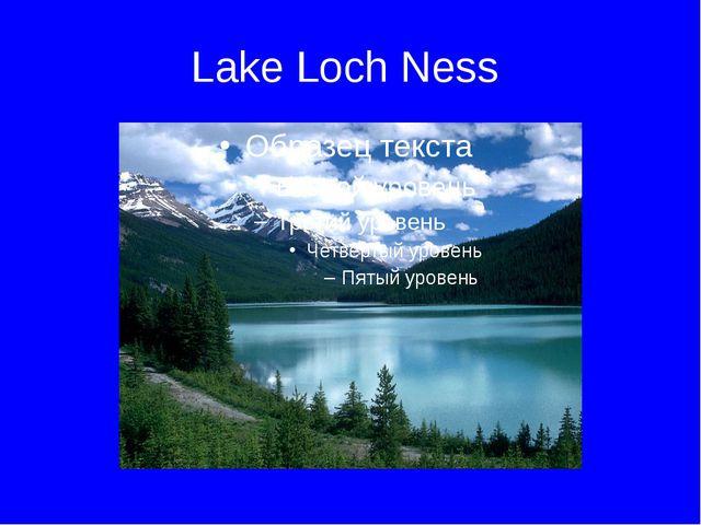 Lake Loch Ness