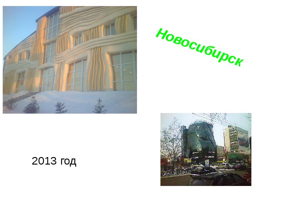 Новосибирск 2013 год