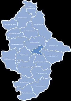 Мапа області