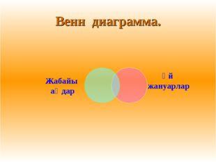 Венн диаграмма.