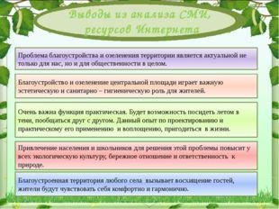 Проблема благоустройства и озеленения территории являетсяактуальной не толь