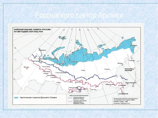 Российского сектор Арктики