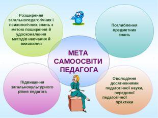 Розширення загальнопедагогічних і психологічних знань з метою поширення й удо