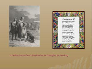 In Goethes Drama Faust ist der Brocken ein Schauplatz der Handlung.