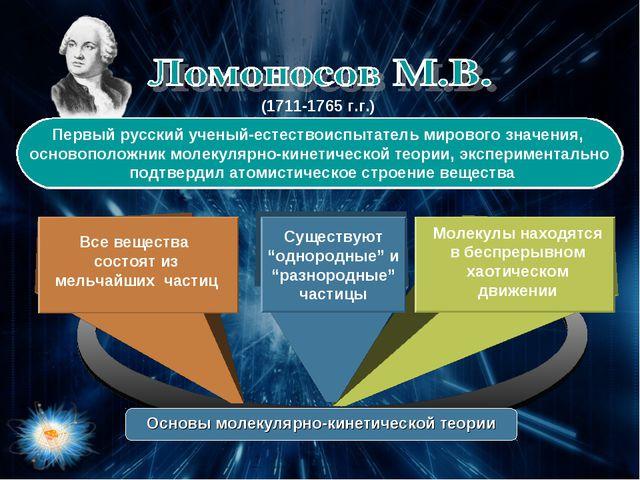 Первый русский ученый-естествоиспытатель мирового значения, основоположник м...