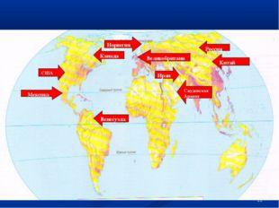 * США Россия Китай Саудовская Аравия Иран Мексика Канада Венесуэла Норвегия В