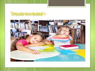choose new books