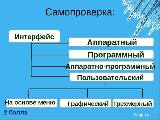 Интерфейс Аппаратный Программный Аппаратно-программный Пользовательский На ос...