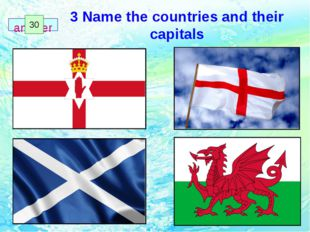 3 Name the countries and their capitals 1 2 3 4 5 6 7 8 9 10 11 12 13 14 15 1