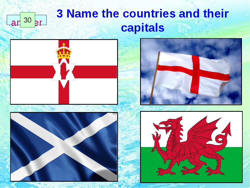 3 Name the countries and their capitals 1 2 3 4 5 6 7 8 9 10 11 12 13 14 15 1...
