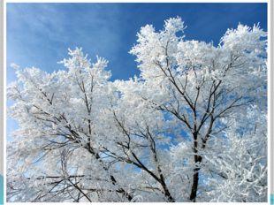 С выпадением большого количества снега, наступают первые непродолжительные м