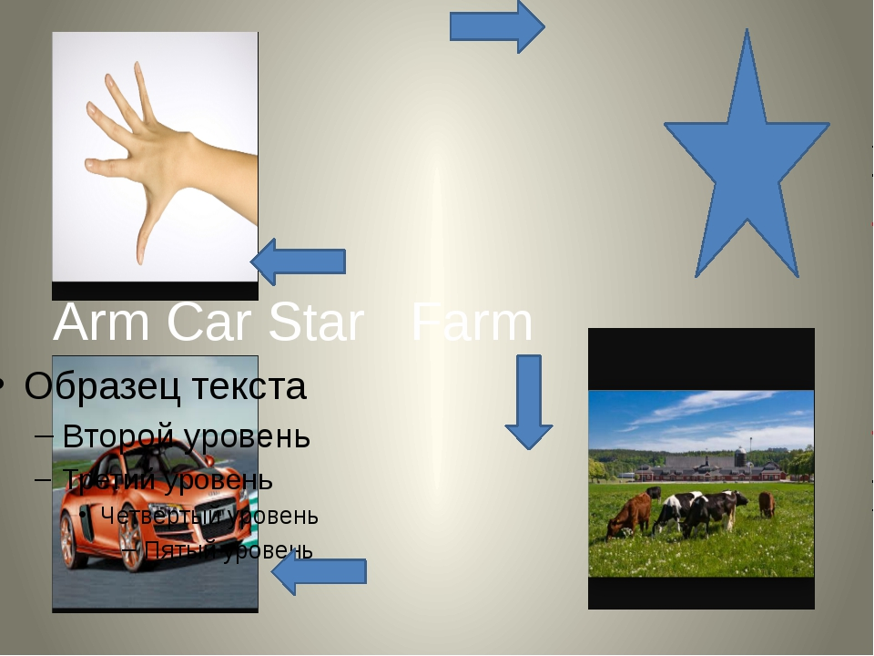 Arm Car Star Farm