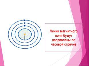 Проводник с током расположен перпендикулярноплоскости листа: 1.Направление