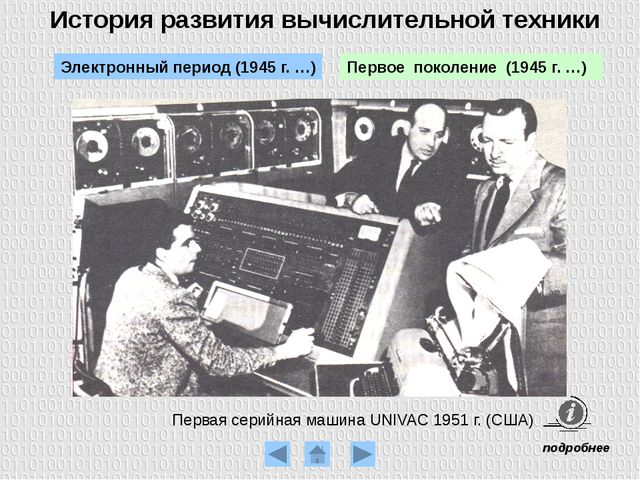 Выпущена первая серийная отечественная вычислительная машина Стрела (1953 г.)...
