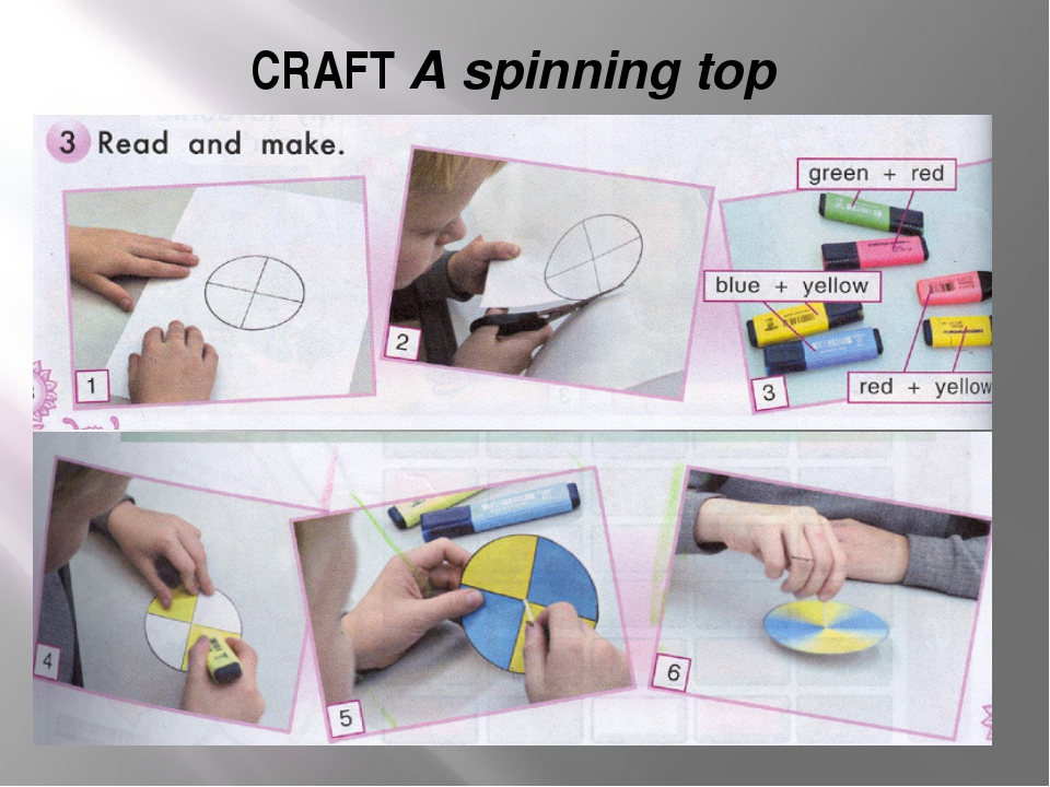 CRAFT A spinning top