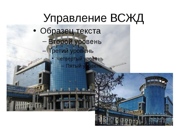 Управление ВСЖД