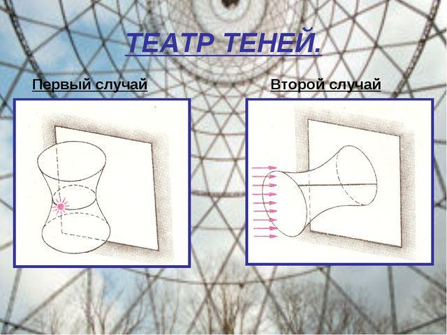 ТЕАТР ТЕНЕЙ. Первый случай Второй случай