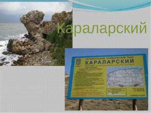 Караларский