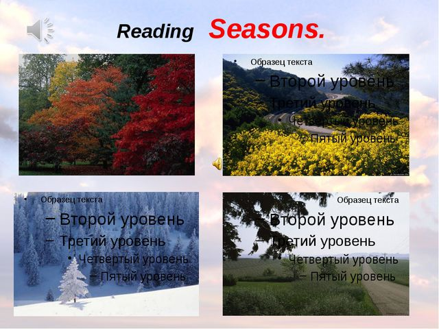 Reading Seasons.