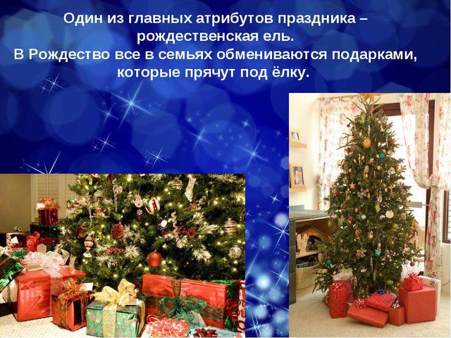 Один из главных атрибутов праздника – рождественская ель. В Рождество все в с...