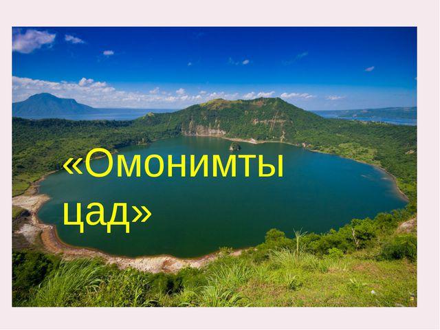 «Омонимты цад»