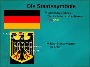 Die Staatssymbole