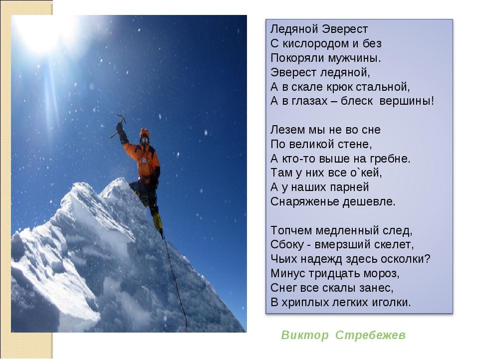 Виктор Стребежев