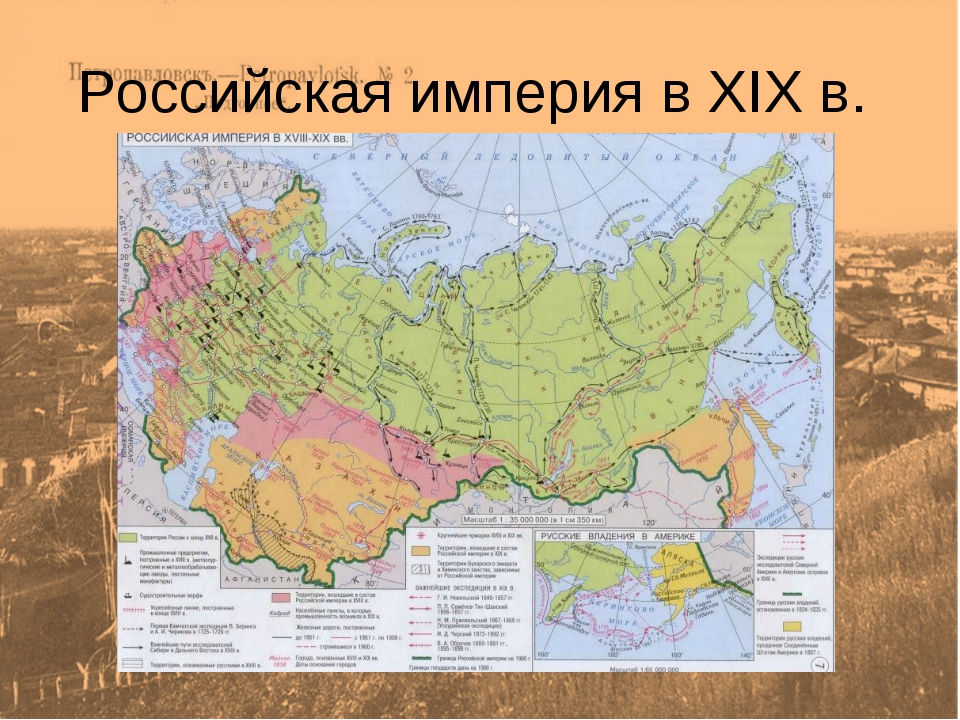 Российская империя в XIX в.