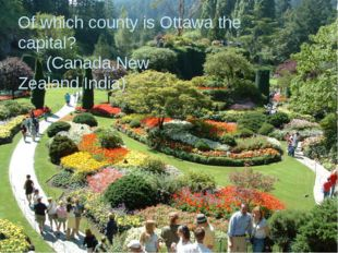 Of which county is Ottawa the capital? Of which county is Ottawa the capital