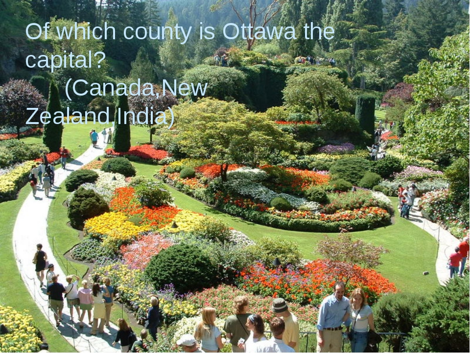 Of which county is Ottawa the capital? Of which county is Ottawa the capital...
