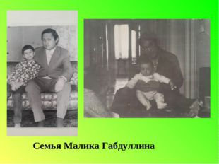 Семья Малика Габдуллина