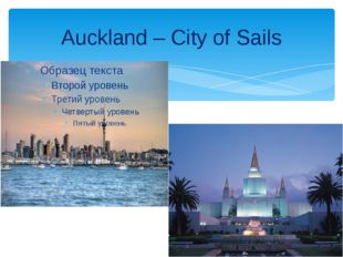 Auckland – City of Sails