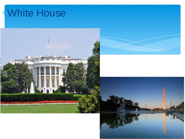 White House Washington Monument