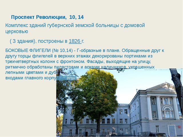 Проспект Революции, 42 В Воронеже на проспекте Революции расположено красивей...