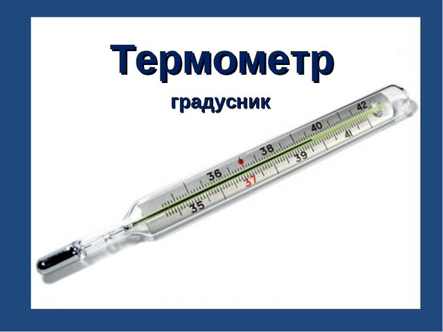 Термометр градусник