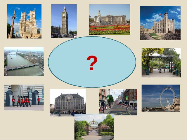 PLACES OF INTEREST IN LONDON ?
