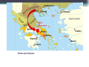 Битва при Херонее 338 г. Херонея