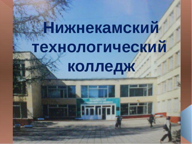 Нижнекамский технологический колледж
