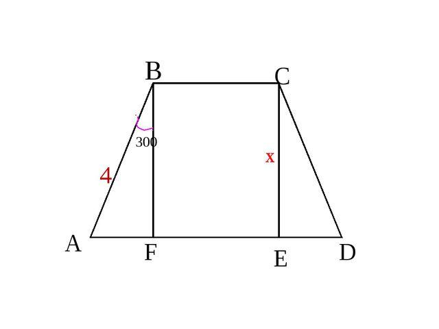 D F E A B C 4 x 300