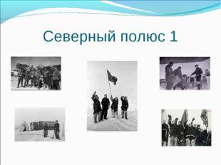 Северный полюс 1