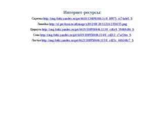 Интернет-ресурсы: Скрепка http://img-fotki.yandex.ru/get/6610/134091466.1c/0_