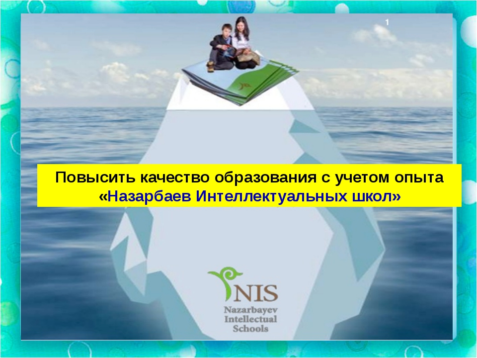 Повысить качество образования с учетом опыта «Назарбаев Интеллектуальных школ»
