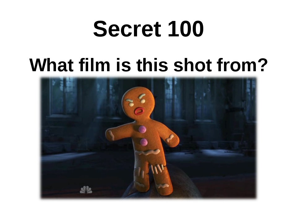 Secret 100 What film is this shot from?