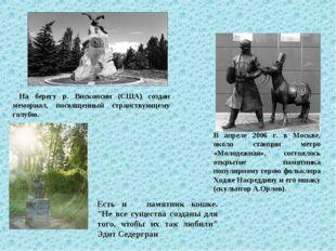 На берегу р. Висконсин (США) создан мемориал, посвященный странствующему гол