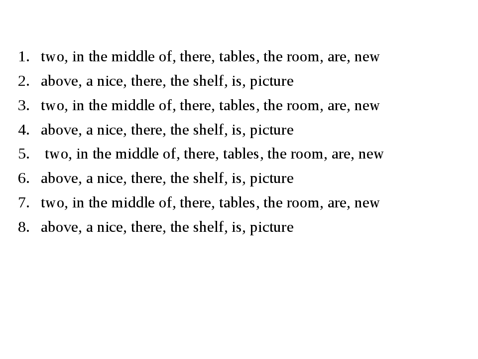 two, in the middle of, there, tables, the room, are, new above, a nice, ther...